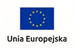 flaga Unii Eurpoejskiej, niebieski prostokąt na środku12 żółtych gwiazd ułożonych w okrąg